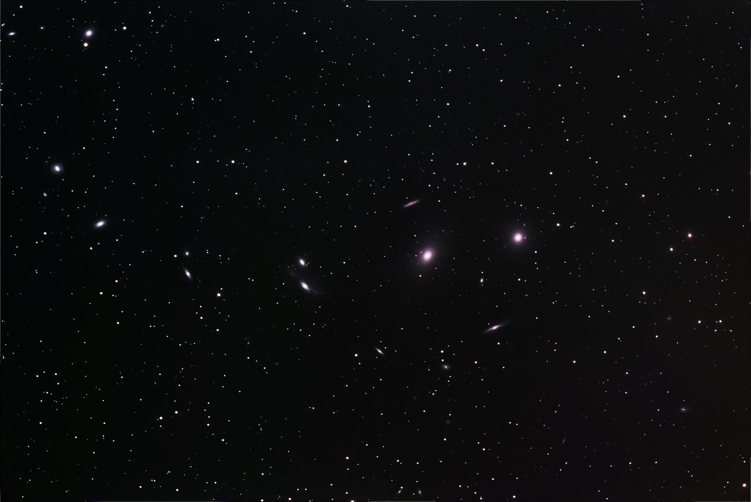 M84 - M86 Chaîne de Markarian M86-m810