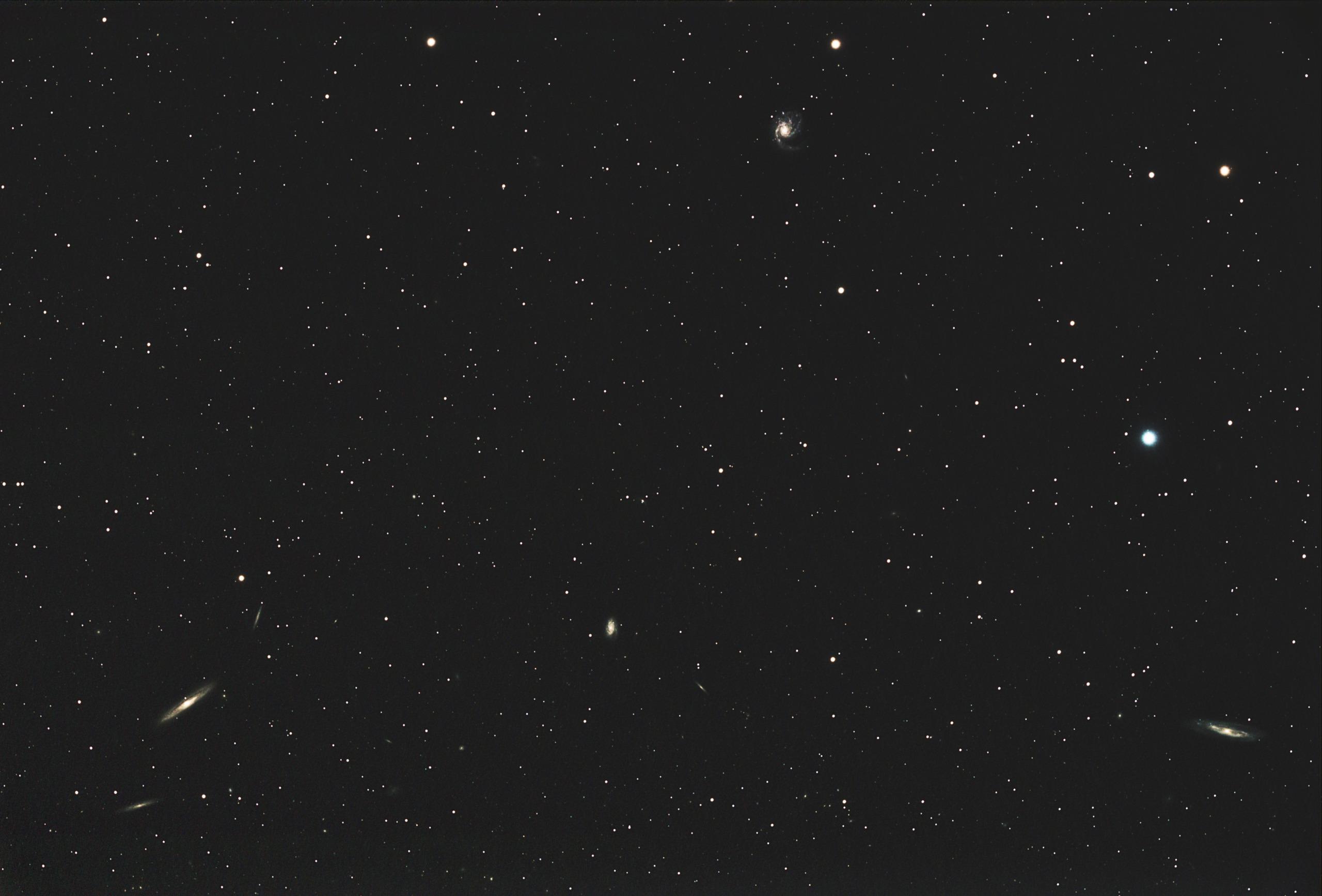M98, M99 et la Galaxie de la traînée d'argent M98-m912