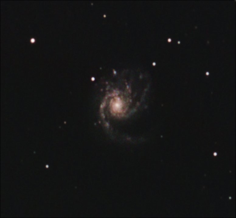 M98, M99 et la Galaxie de la traînée d'argent M99_de10