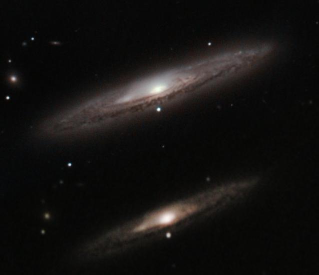 M98, M99 et la Galaxie de la traînée d'argent Trainz12