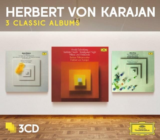 Les 3 Viennois par Karajan chez Deutsche Grammophone Pochet10