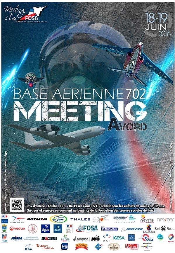 DEBRIEFING  meeting BA 702 Avord 18/19 JUIN 2016  Captur95