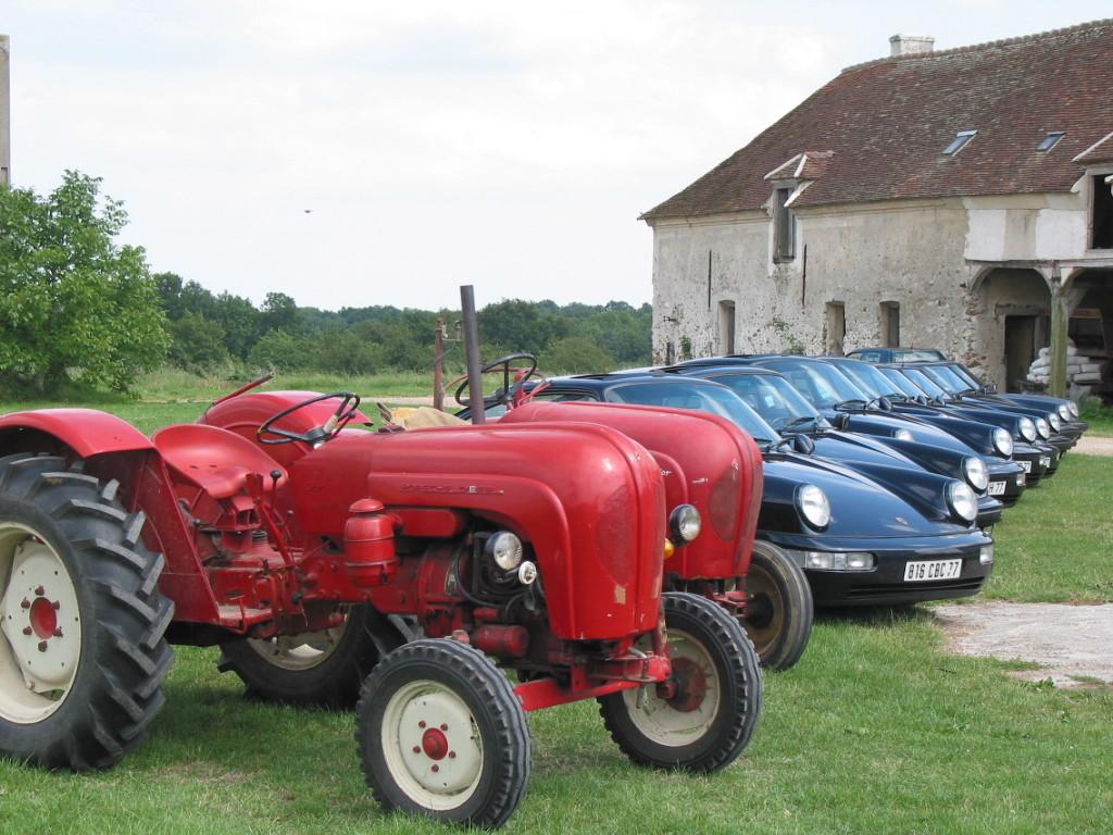 Tracteurs Porsche et 911 Sortie15