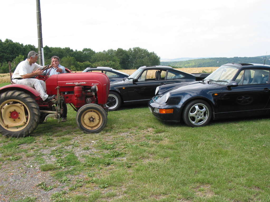 Tracteurs Porsche et 911 Sortie20