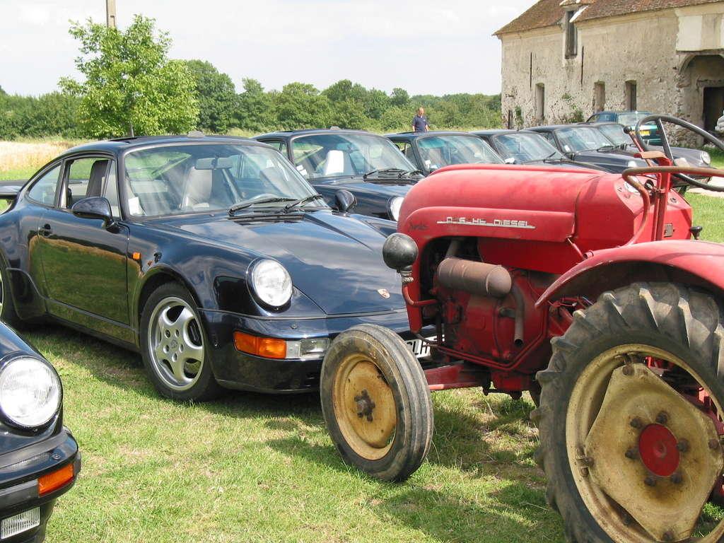 Tracteurs Porsche et 911 Sortie22