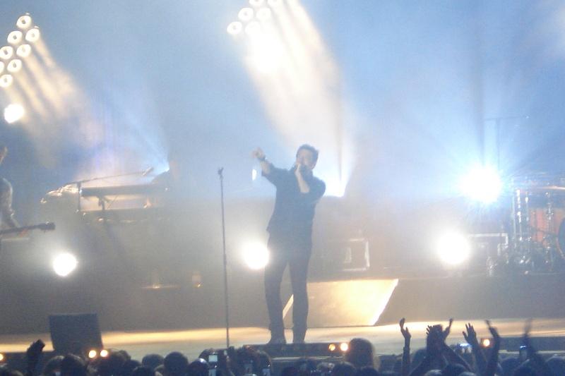 Photo pendant le concert Dsc08110