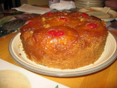 Gâteau renversé à l'ananas (mijoteuse) Gateau11