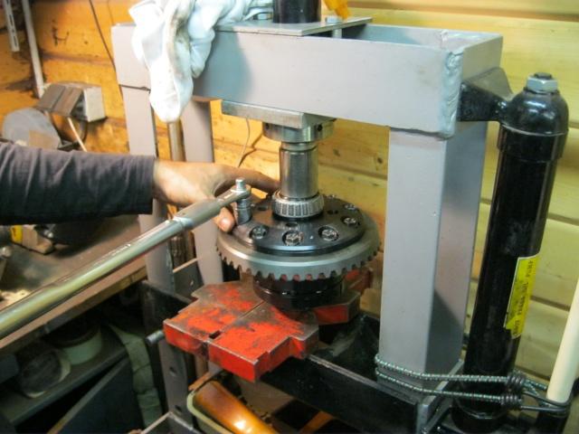 Montage d'un blocage Aschcroft avec un compresseur de DiscoII:..........Un projet gonflé........ mais on ne manque pas d'air!  - Page 3 Img_1328