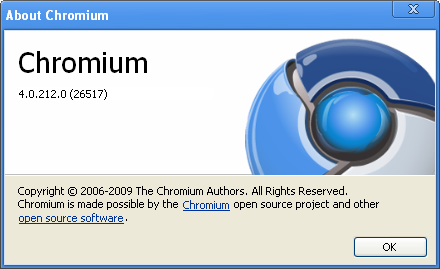 Navigateur Internet: Chromium open soft Chromi10