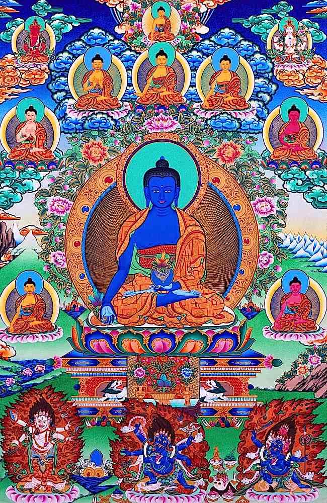 La médecine au Tibet Bhaish10
