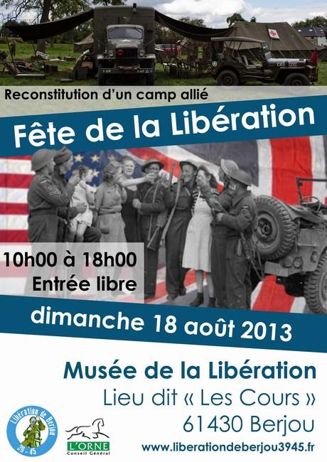 Libération de Berjou 39/45 Mini-l10