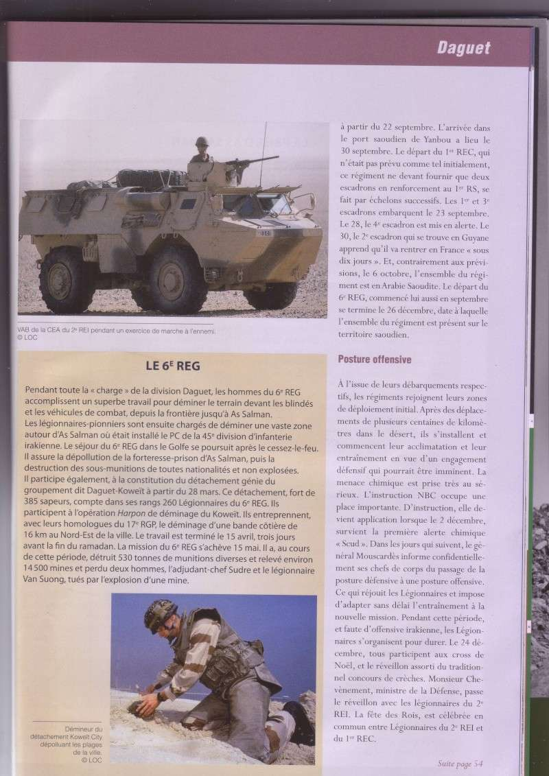 """- La Légion dans la gerre du Golfe """" (Opéation DAGUET) _image33"""