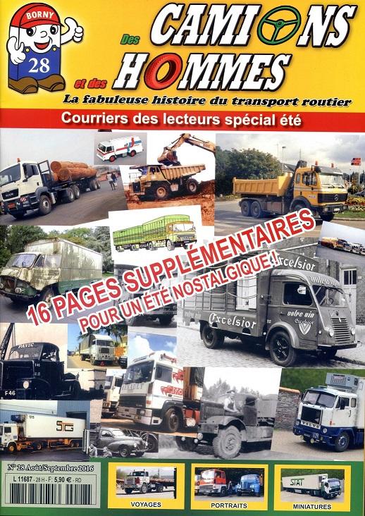 le numéro 28 du magazine Des Camions et des Hommes est disponible !!! Couv_d11