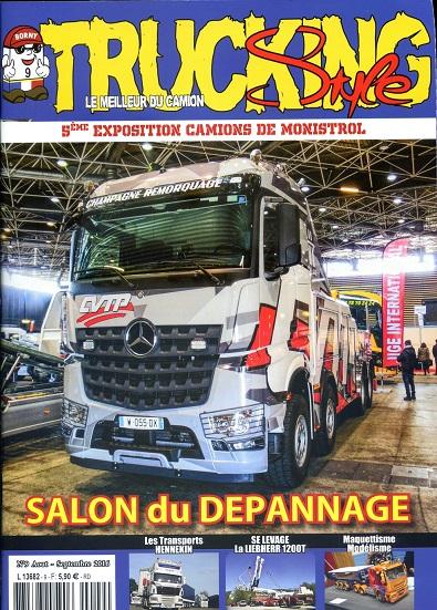 le numéro 9 de Trucking Style disponible samedi 30 juillet ! Couv_t12