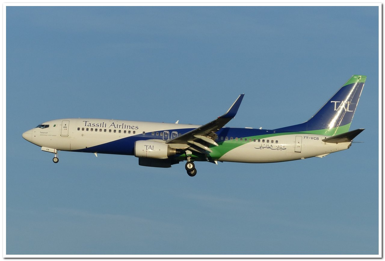 [03/06/2016] Boeing 737-800 (7T-VCD) Tassili Airlines P1120115