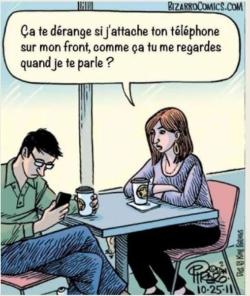 La lutte contre l'envahissement du téléphone portable Teleph10