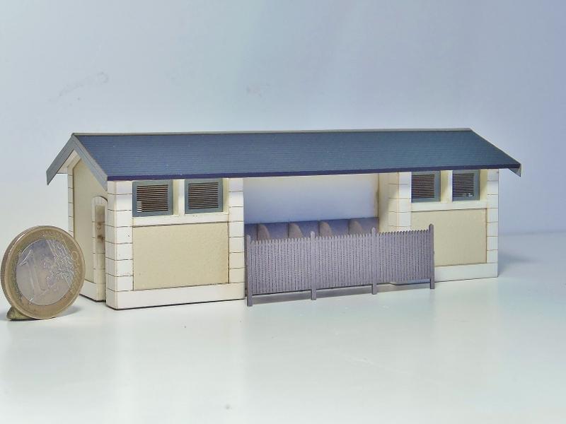 [Architecture & Passion] Abri de quai / WC de Lamothe-Montravel (PO) 87458110