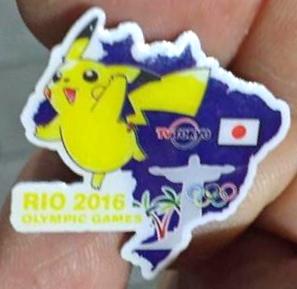 Pin's Rio 2016 13939410