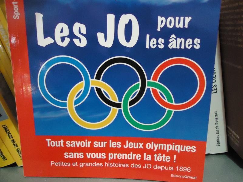 Livres sur les Jeux Olympiques Dsc00510
