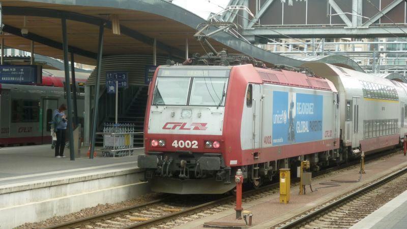 Les livrées publicitaires des machines CFL 4002_110