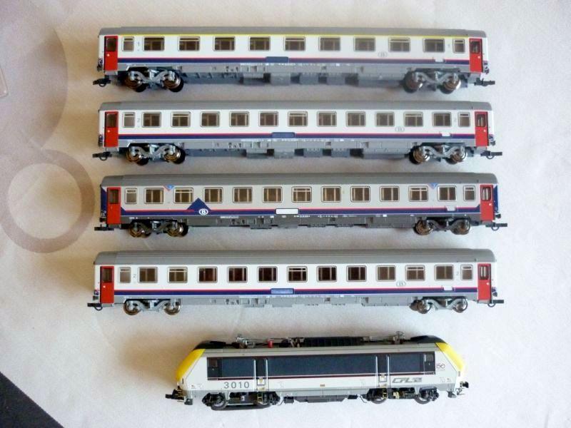 Les compositions voyageurs sur la Ligne du Nord 1980 -2011 en H0 P1040010