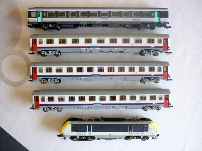 Les compositions voyageurs sur la Ligne du Nord 1980 -2011 en H0 P1040011