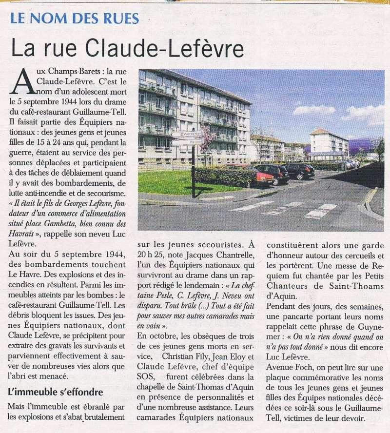 Havre - Le Havre - Rue Claude Lefèvre (Champs-Barets) 2016-028