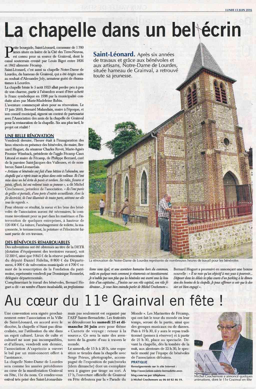 Saint-Léonard - Notre-Dame de Lourdes, hameau de Grainval 2016-034