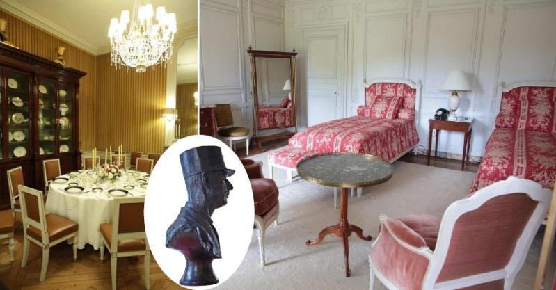 Un président chez le roi - De Gaulle à Trianon Cette_10