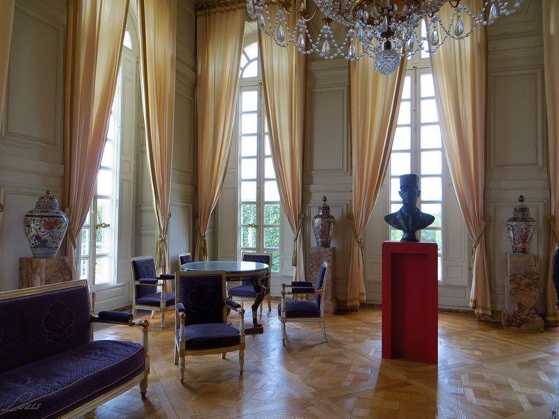 Un président chez le roi - De Gaulle à Trianon Img_4017