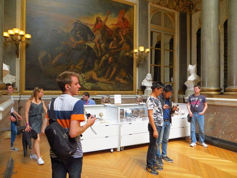 Exposition Versailles et l'Indépendance américaine Img_4153
