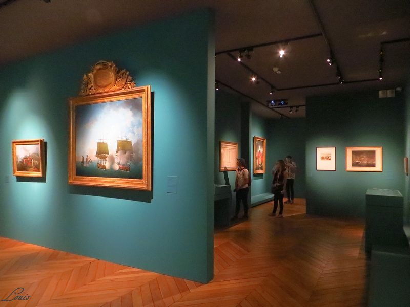 Exposition Versailles et l'Indépendance américaine Img_4221