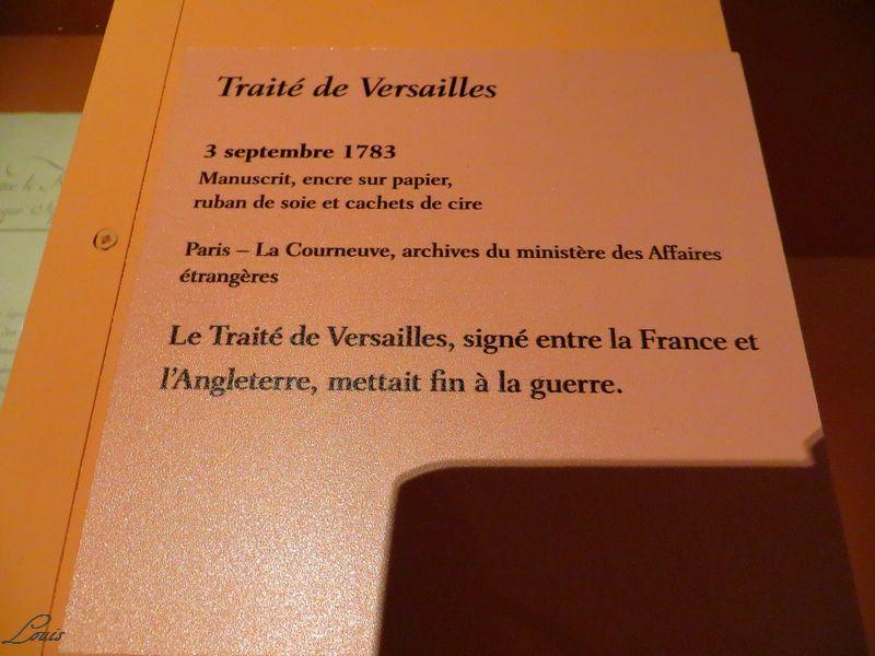 Exposition Versailles et l'Indépendance américaine Img_4223