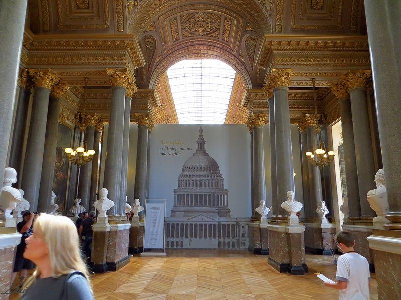 Exposition Versailles et l'Indépendance américaine Img_4226
