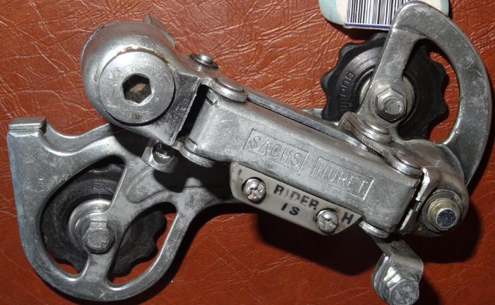 Remplacement galet dérailleur Simplex Sachs-11