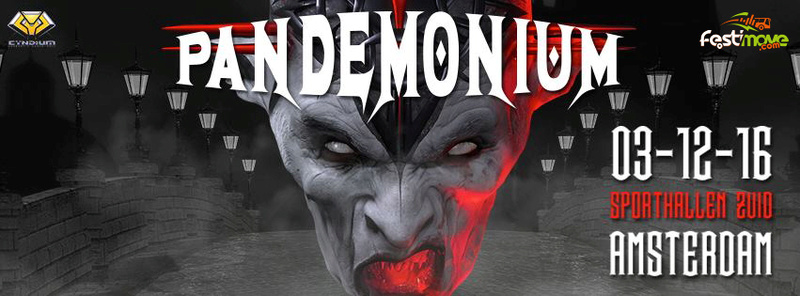 Thunderdome Die Hard Day II + Pandemonium - 3 Décembre 2016 - Amsterdam - NL 13631610