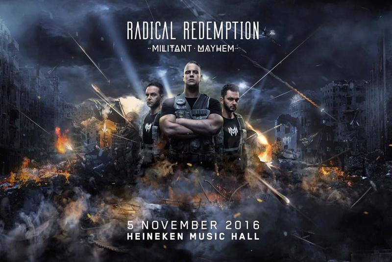 Radical Redemption - Militant Mayhem - 5 Novembre 2016 - Heinekein Music Hall - Amsterdam - NL 13654210