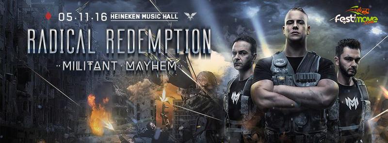 Radical Redemption - Militant Mayhem - 5 Novembre 2016 - Heinekein Music Hall - Amsterdam - NL 13718710