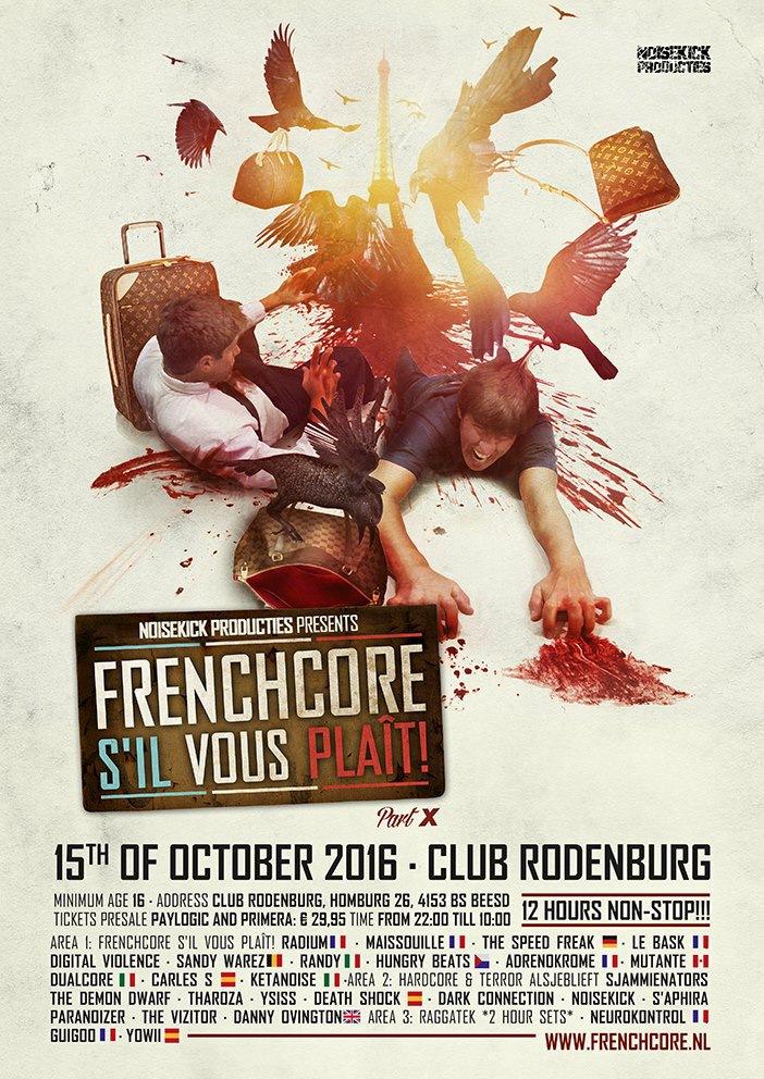 Frenchcore s'il vous plaît! · Part 10 - 15 Octobre 2016 - Club Rodenburg - Beesd - NL 31720910