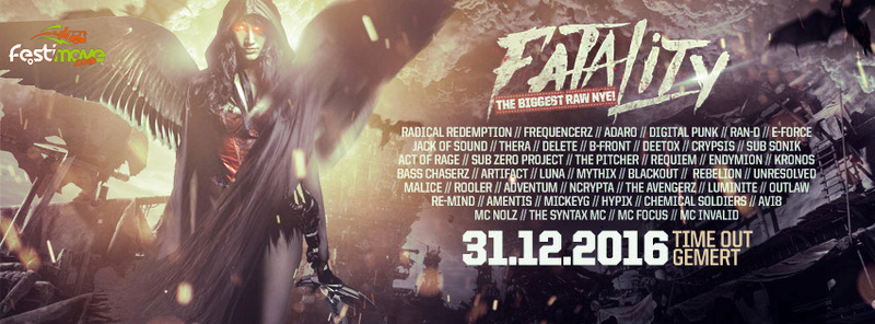 Fatality - The Biggest RAW NYE - 31 Décembre 2016 - Time Out - Gemert - NL Fatali10