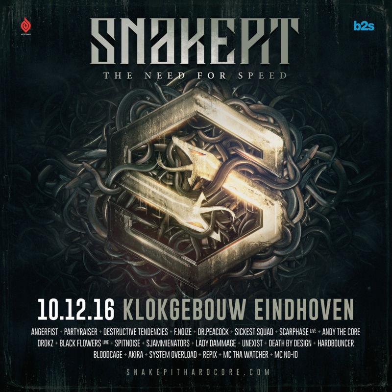 Snakepit - 10 Décembre 2016 - Klokgebouw - Eindhoven - NL Scherm10