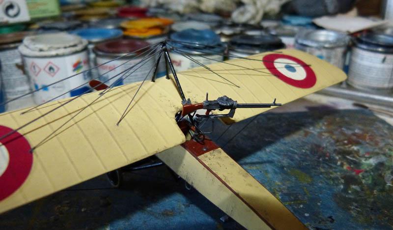 """[1915] [AZ Model] Morane L """"Parasol"""" - Première victoire de Guynemer. Morane24"""