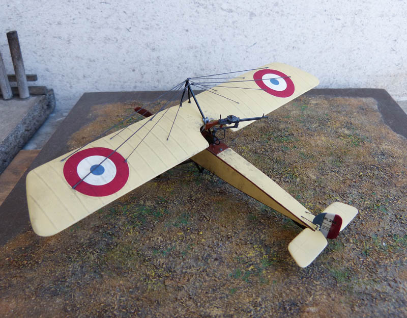 """[1915] [AZ Model] Morane L """"Parasol"""" - Première victoire de Guynemer. Morane26"""