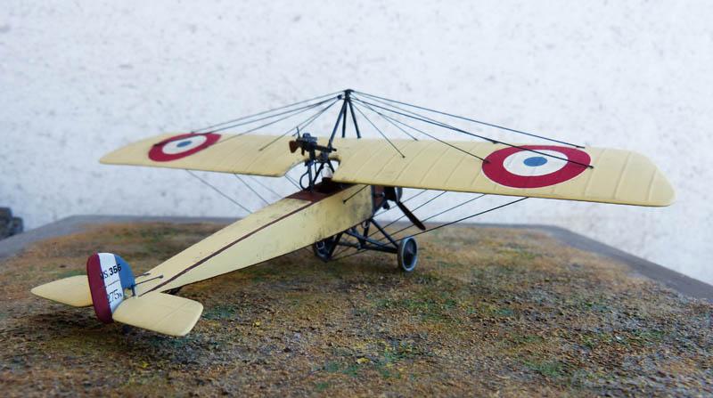 """[1915] [AZ Model] Morane L """"Parasol"""" - Première victoire de Guynemer. Morane28"""