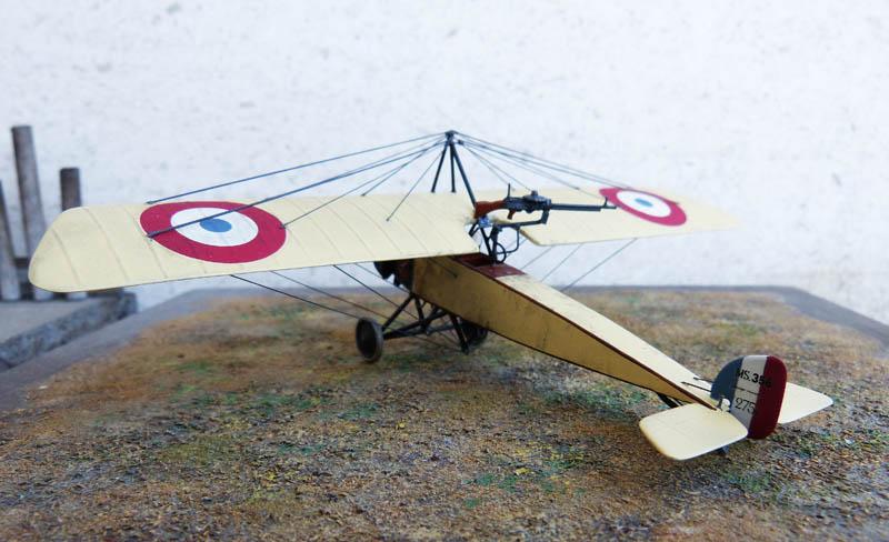 """[1915] [AZ Model] Morane L """"Parasol"""" - Première victoire de Guynemer. Morane29"""