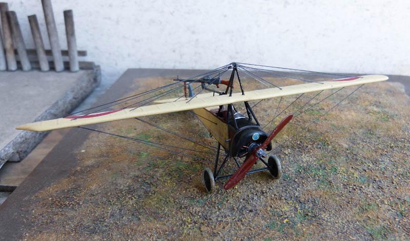 """[1915] [AZ Model] Morane L """"Parasol"""" - Première victoire de Guynemer. Morane31"""