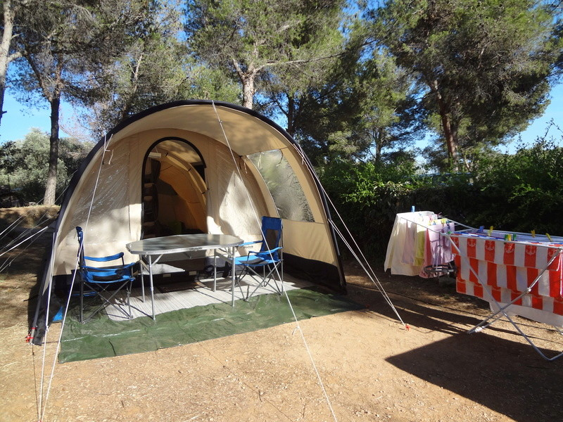"Camping ""le clos sainte therese"" St Cyr sur Mer 1610"