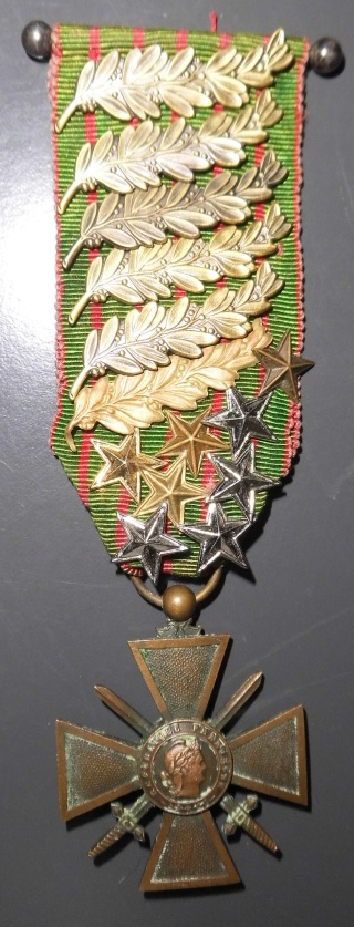 Croix de guerre avec 14 citations ! Dsci0521