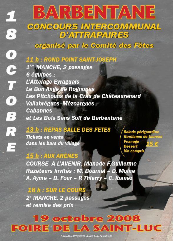 concours intercommunal d'attrapaires le 18 oct à Barbentane Concou10