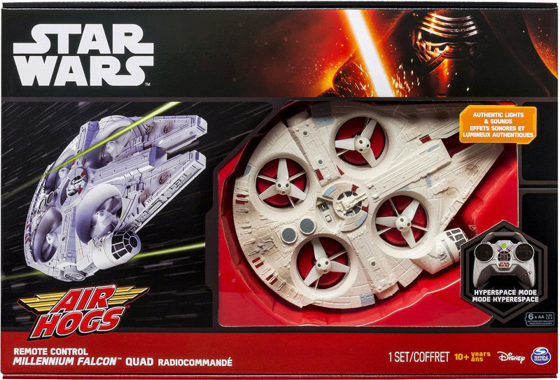 TIE advanced RC + Millenium Falcon RC XL? Star-w10